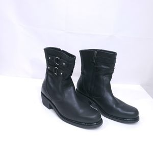 Harley Davidson Piper Black Riding Boots Size 8